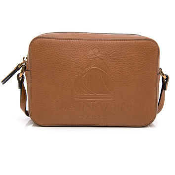 Lanvin Camel Logo Mini Crossbody