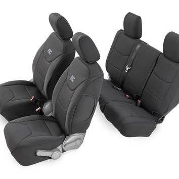 Jeep Wrangler Seat Covers for the JK Unlimited 2007 - 2017