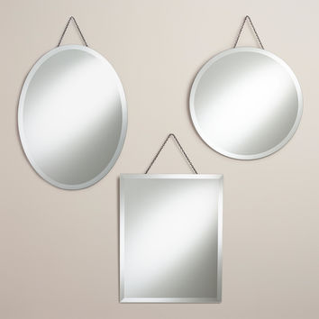 Sage Frameless Mirrors - World Market