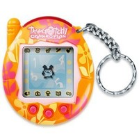 Tropical Orange Flowers - Tamagotchi Connection Version 3