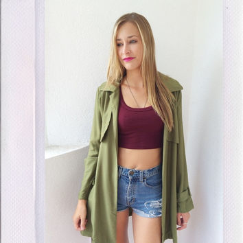 Be My Favorite Coat- Olive