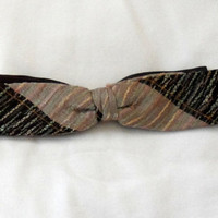 1980's CLIP ON TIE 4 Men / 4 Young Adult Men / 4 Boys / Pre-owned Clip On Bow Tie / Fashion Accessory 4 Men / Wear Any Time Clip On Tie
