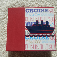 6 x 6 Cruise Vacation Scrapbook Album