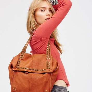 Free People Utility Studded Backpack