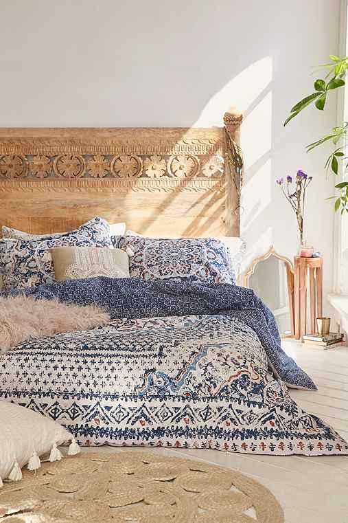 from bed printed bedding so full outfitters woodblock thinking magical comforter size p urban