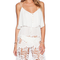 Tt Beach Jemma Dress in White