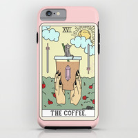 COFFEE READING iPhone Case by sagepizza