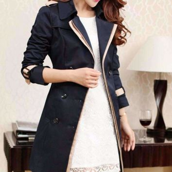 Belted Wrest Women Trench Coat