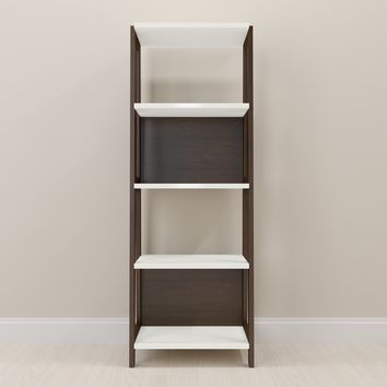 Carmerino Off-white Home Office Bookcase