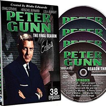 Craig Stevens & Lola Albright & Blake Edwards & Robert Altman-Peter Gunn - The Final Season