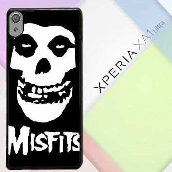 Horror Punk Rock Band Misfits Skull Z0506 Sony Xperia XA1 Ultra Case
