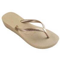 Havaianas 4001030 High Light Wedge Flip Flop