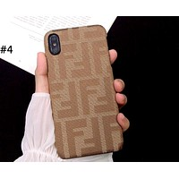 Fendi Tide brand iPhone7plus personalized mobile phone case cover #4