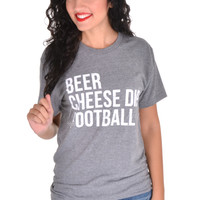 Charlie Southern Beer Cheese Dip Football Tee