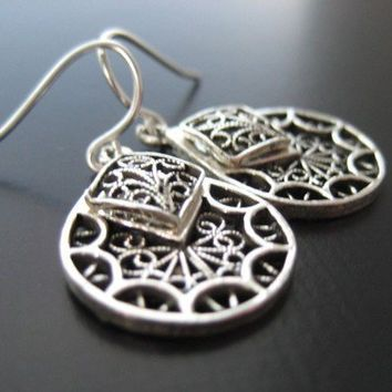 Top Seller  Cameron Sterling Silver Earrings by JulieEllynDesigns