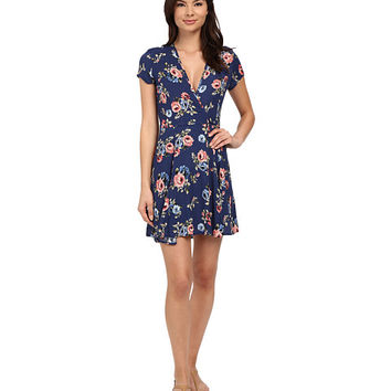 Brigitte Bailey Charlotte Floral Wrap Dress