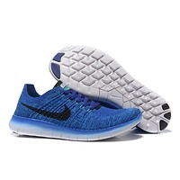"""Nike Free Rn Flyknit 5.0"" Men Sport Casual Fly Knit Sneakers Running Shoes"