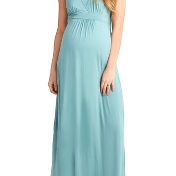 Nom Maternity Hollis Maternity/Nursing Maxi Dress | Nordstrom