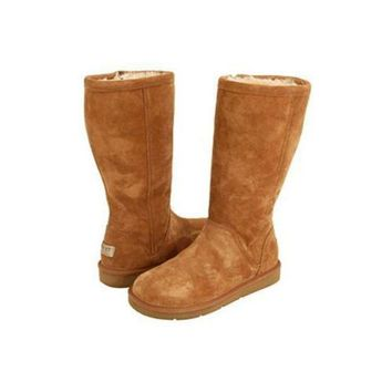 ICIKIN2 Cyber Monday Uggs Boots Kenly 1890 Chestnut For Women 91 31
