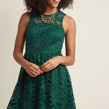 Lithe Laughter Lace Dress