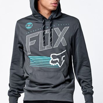 Fox Thrill Kill Pullover Hoodie - Mens Hoodie - Black