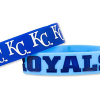 MLB Kansas City Royals Bulk Bandz Bracelet (Pack of 2)