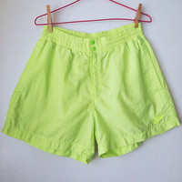 NIKE Shorts // Vintage 90s CHALLENGE COURT Athletic Shorts Rare Andre Agassi Mens M