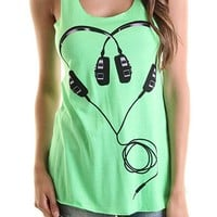 For the Love of Music Tank (Multiple Colors Available)