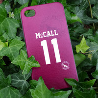 Teen Wolf Scott McCALL lacrosse jersey iPhone 4 by blacksheepcase