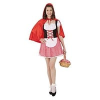 Totally Ghoul Red Riding Hood Teen Halloween Costume