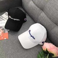 Champion baseball cap Hip Hop Embroidery Sunhat
