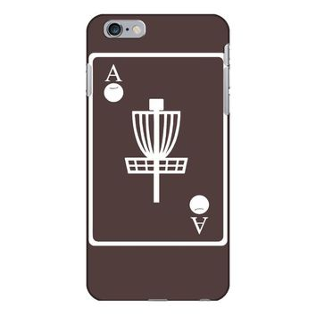 disc golf ace card target chains frisbee basket iPhone 6/6s Plus Case