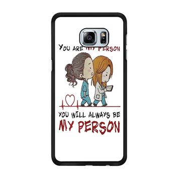 Grey S Anatomy You Will Always Be My Person Samsung Galaxy S6 Edge Plus Case