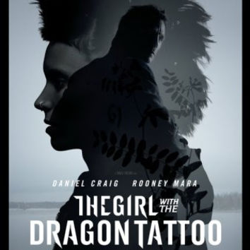 Girl With The Dragon Tattoo Movie mini poster 11x17 #02