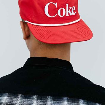Coke Snapback Hat- Red One