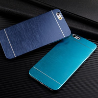 Blue Metal Case for Apple iPhone 6
