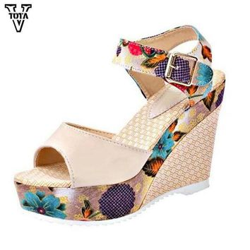 ONETOW Sandals Wedges Fashion Women Shoes high-heeled shoes Platform