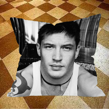 Tom Hardy Pillow Case, Pillow Cover, Cushion Cover, Decorative Pillow