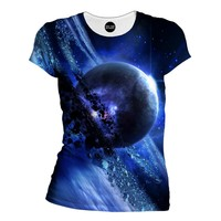Blue Saturn Women's T-Shirt