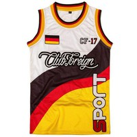 ONETOW Club Foreign Sport Slim Fit Men Jersey Germany