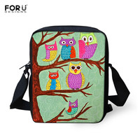 Hot sale Women Ladies Messenger Bag Fashion Handbags Animal Owl Printed Girls Messenger Bags Crossbody Bag For Women Satchel Bag