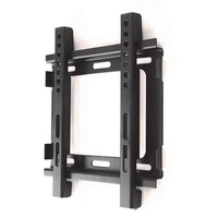 Monster Mounts Ultra Slim TV Wall Mount - 10-40 inches FF22 (Black)