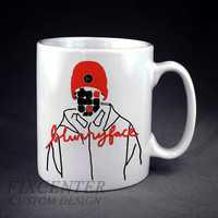 Twenty One Pilots Blurryface Inspired Art Personalized mug/cup