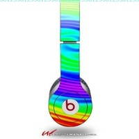 Rainbow Swirl Decal Style Skin (fits genuine Beats Solo HD Headphones - HEADPHONES NOT INCLUDED):Amazon:Electronics