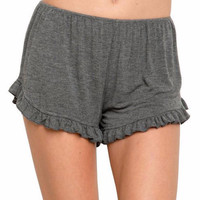 Lina Soft Ruffle Shorts