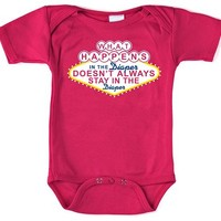 What Happens in the Diaper Onesuit by fuscia Snapper - Pop! Gift Boutique
