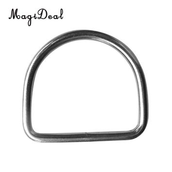 MagiDeal Scuba Dive 316 Stainless Steel D Ring for 5cm Weight Belt Webbing Accessories Buckle Hook Scuba Diving Surfing Climbing