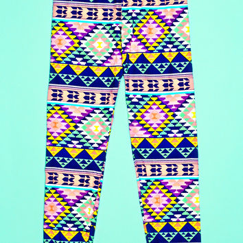 Candy Crush Leggings - Child Size