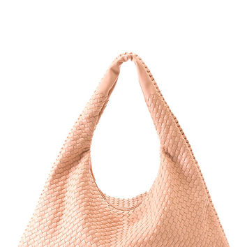 Shiraleah Lola Hobo Vegan in Nude