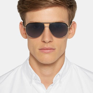Tom Ford - Cole Aviator-Style Acetate and Metal Sunglasses | MR PORTER